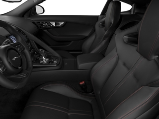 2017 Jaguar F-TYPE Pictures F-TYPE Coupe 2D S V6 photos front seat interior