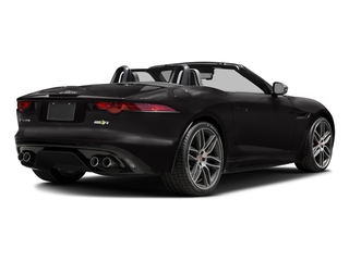 2017 Jaguar F-TYPE Pictures F-TYPE Convertible 2D R AWD V8 photos side rear view