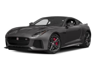 2017 Jaguar F-TYPE Pictures F-TYPE Coupe Auto SVR AWD photos side front view