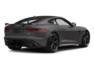 2017 Jaguar F-TYPE Pictures F-TYPE Coupe 2D SVR AWD V8 photos side rear view