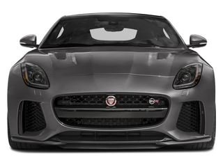 2017 Jaguar F-TYPE Pictures F-TYPE Coupe 2D SVR AWD V8 photos front view