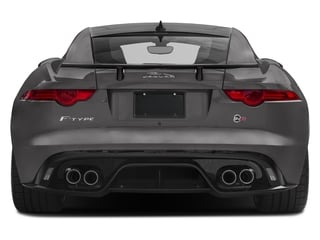 2017 Jaguar F-TYPE Pictures F-TYPE Coupe Auto SVR AWD photos rear view