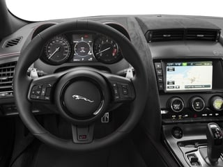 2017 Jaguar F-TYPE Pictures F-TYPE Coupe Auto SVR AWD photos driver's dashboard