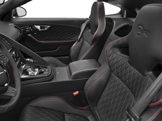2017 Jaguar F-TYPE Pictures F-TYPE Coupe Auto SVR AWD photos front seat interior