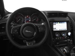 2017 Jaguar F-TYPE Pictures F-TYPE Coupe 2D R AWD V8 photos driver's dashboard