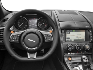 2017 Jaguar F-TYPE Pictures F-TYPE Conv 2D S British Design Edition AWD photos driver's dashboard