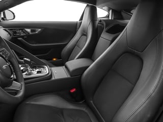 2017 Jaguar F-TYPE Pictures F-TYPE Coupe Auto photos front seat interior