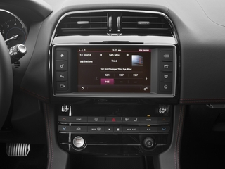2017 Jaguar F-PACE Pictures F-PACE Utility 4D First Edition AWD V6 photos stereo system