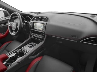 2017 Jaguar F-PACE Pictures F-PACE Utility 4D First Edition AWD V6 photos passenger's dashboard