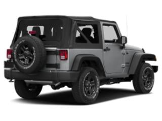 2017 Jeep Wrangler Pictures Wrangler Utility 2D Sahara 4WD V6 photos side rear view