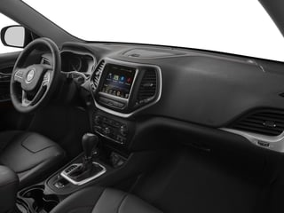 2017 Jeep Cherokee Pictures Cherokee Trailhawk 4x4 *Ltd Avail* photos passenger's dashboard