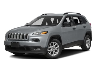 2017 Jeep Cherokee Pictures Cherokee Sport 4x4 photos side front view