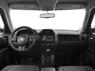 2017 Jeep Patriot Pictures Patriot Latitude FWD photos full dashboard