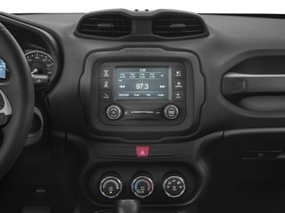 2017 Jeep Renegade Pictures Renegade Sport 4x4 photos stereo system