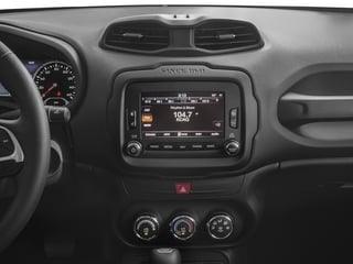 2017 Jeep Renegade Pictures Renegade Utility 4D Trailhawk AWD photos stereo system