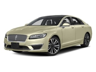 2017 Lincoln MKZ Pictures MKZ Sedan 4D Select AWD I4 photos side front view