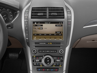 2017 Lincoln MKZ Pictures MKZ Sedan 4D Select AWD I4 photos stereo system