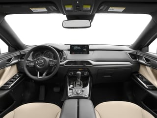 2017 Mazda CX-9 Pictures CX-9 Grand Touring AWD photos full dashboard