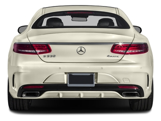 2017 Mercedes-Benz S-Class Pictures S-Class S 550 4MATIC Coupe photos rear view