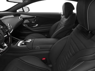 2017 Mercedes-Benz S-Class Pictures S-Class S 550 4MATIC Coupe photos front seat interior