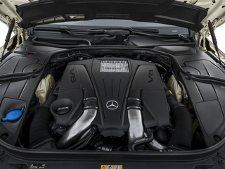 2017 Mercedes-Benz S-Class Pictures S-Class S 550 4MATIC Coupe photos engine