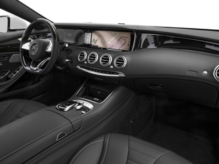 2017 Mercedes-Benz S-Class Pictures S-Class Coupe 2D S550 AWD V8 Turbo photos passenger's dashboard