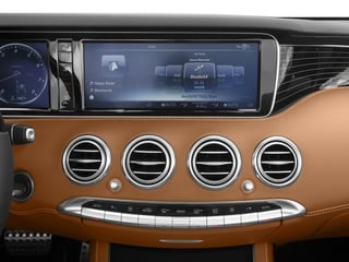2017 Mercedes-Benz S-Class Pictures S-Class S 550 Cabriolet photos stereo system
