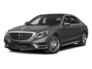 2017 Mercedes-Benz S-Class Pictures S-Class S 550 Sedan photos side front view