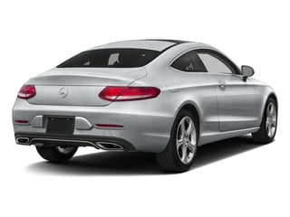 2017 Mercedes-Benz C-Class Pictures C-Class C 300 Coupe photos side rear view