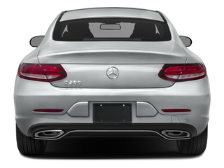 2017 Mercedes-Benz C-Class Pictures C-Class Coupe 2D C300 AWD photos rear view