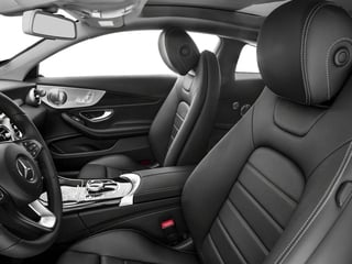 2017 Mercedes-Benz C-Class Pictures C-Class C 300 4MATIC Coupe photos front seat interior