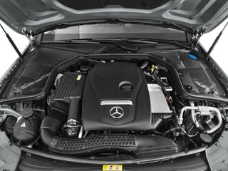 2017 Mercedes-Benz C-Class Pictures C-Class Sedan 4D C300 AWD I4 Turbo photos engine