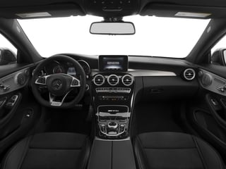 2017 Mercedes-Benz C-Class Pictures C-Class Coupe 2D C63 AMG V8 Turbo photos full dashboard