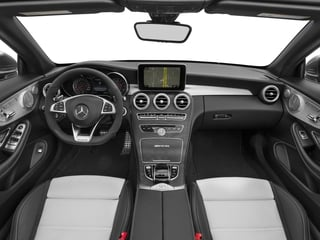 2017 Mercedes-Benz C-Class Pictures C-Class AMG C 63 Cabriolet photos full dashboard