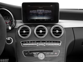 2017 Mercedes-Benz C-Class Pictures C-Class Convertible 2D C63 AMG V6 Turbo photos stereo system