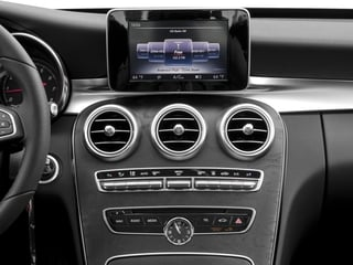 2017 Mercedes-Benz C-Class Pictures C-Class Sedan 4D C350e I4 Turbo Electric photos stereo system
