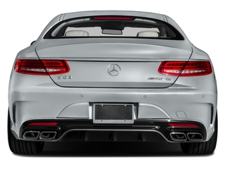 2017 Mercedes-Benz S-Class Pictures S-Class Coupe 2D S63 AMG AWD V8 Turbo photos rear view