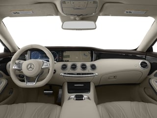 2017 Mercedes-Benz S-Class Pictures S-Class Coupe 2D S63 AMG AWD V8 Turbo photos full dashboard