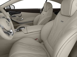 2017 Mercedes-Benz S-Class Pictures S-Class Coupe 2D S63 AMG AWD V8 Turbo photos front seat interior