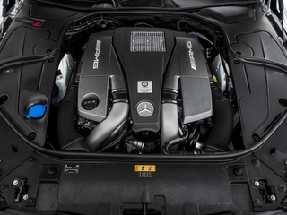 2017 Mercedes-Benz S-Class Pictures S-Class Coupe 2D S63 AMG AWD V8 Turbo photos engine