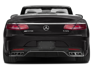 2017 Mercedes-Benz S-Class Pictures S-Class AMG S 65 Cabriolet photos rear view