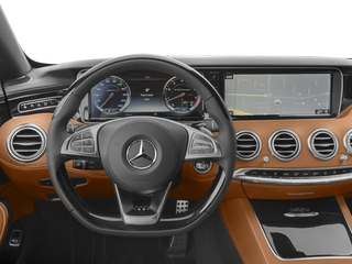 2017 Mercedes-Benz S-Class Pictures S-Class 2 Door Cabriolet photos driver's dashboard