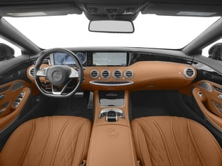 2017 Mercedes-Benz S-Class Pictures S-Class AMG S 65 Cabriolet photos full dashboard