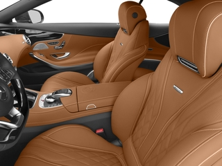 2017 Mercedes-Benz S-Class Pictures S-Class AMG S 65 Cabriolet photos front seat interior