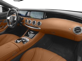 2017 Mercedes-Benz S-Class Pictures S-Class AMG S 65 Cabriolet photos passenger's dashboard