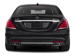 2017 Mercedes-Benz S-Class Pictures S-Class 4 Door Sedan photos rear view
