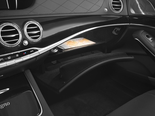 2017 Mercedes-Benz S-Class Pictures S-Class 4 Door Sedan photos glove box