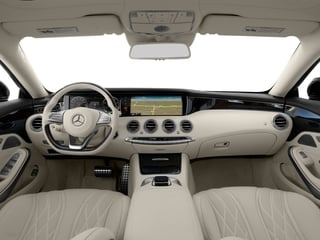 2017 Mercedes-Benz S-Class Pictures S-Class 2 Door Coupe photos full dashboard