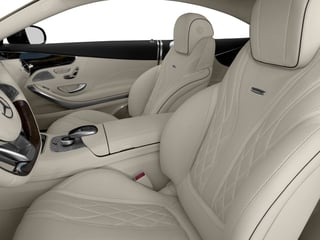 2017 Mercedes-Benz S-Class Pictures S-Class 2 Door Coupe photos front seat interior