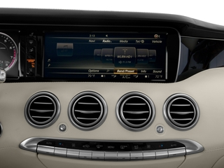 2017 Mercedes-Benz S-Class Pictures S-Class 2 Door Coupe photos stereo system